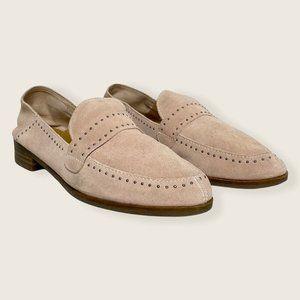 Lucky Brand Pink Suede Loafers